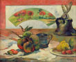Still Life with a Fan, Paul Gauguin, c.1889