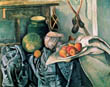 Still Life with Pitcher and Aubergines, Paul Cezanne