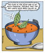 'The flies in the soup are in so much financial trouble...'
