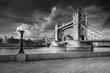Tower Bridge - black and white