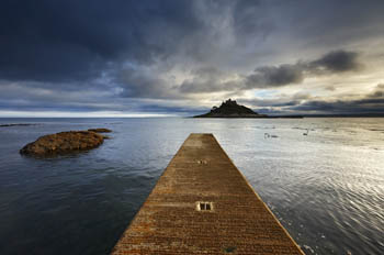 Storm Approaching, St Michael's Mount, Cornwall