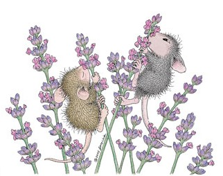 Baby Mice on Lavender