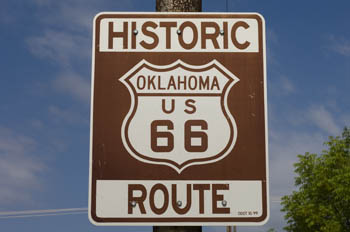 Route 66 - Oklahoma, USA