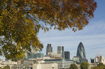 Autumn in the City - London