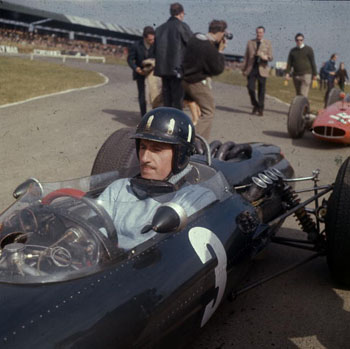 Graham Hill at Brands Hatch