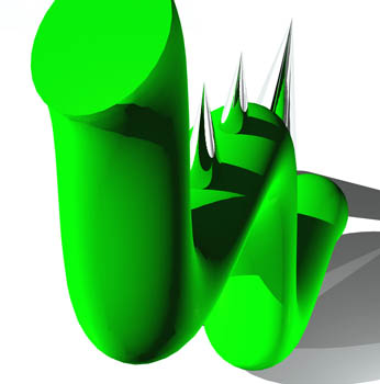 Composition in Green III