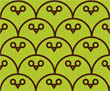Owl Be Watching You - Lime Brown