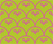 Owl Be Watching You - Lime Pink