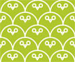 Owl Be Watching You - Lime White