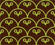 Owl Be Watching You - Brown Lime