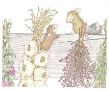 Mice with Herbs