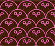 Owl Be Watching You - Brown Pink