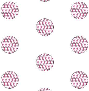 Paperchain Polka - Pink