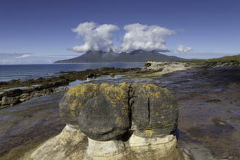 Concretions, Laig Bay, Isle of Eigg, Hebrides