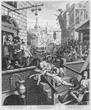 Gin Lane, William Hogarth, 1751