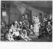 The Rake in Bedlam from 'A Rake's Progress', 1763 - William Hogarth