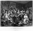 The Orgy from 'A Rake's Progress' - William Hogarth