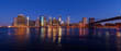 Panorama of New York with Brooklyn Bridge