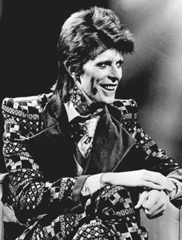 David Bowie, January 1 1974