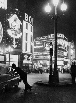 Piccadilly Circus, London, 1960
