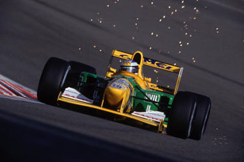 Michael Schumacher wins F1 Grand Prix, Belgium 1992
