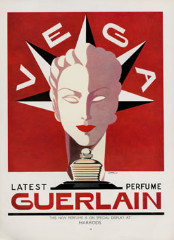 Guerlain Magazine Advert 1940's