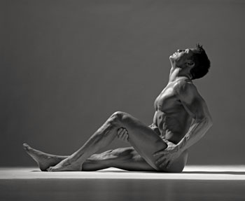 click to enlarge Male Nude Seated ...