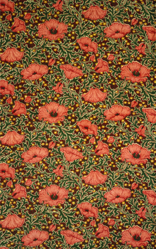 Poppies Fabric: V&A