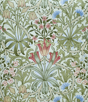 William Morris Woodland Weeds Wallpaper: V&A