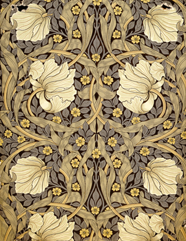 William Morris Pimpernel Wallpaper: V&A