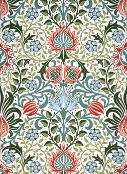 William Morris Persian Wallpaper: V&A