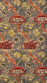 William Morris and Co. Furnishing Fabric: V&A