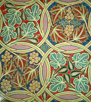 Fig and Vine Wallpaper: V&A