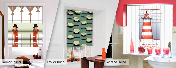 Roller Blinds Funky Blinds Childrens Blinds Creatively